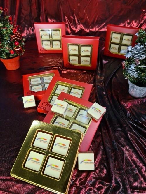 Chocolaatjes voor onze Overblijfmedewerkers